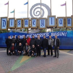 AMERİKA SEYAHAT 2011 DISNEYLAND